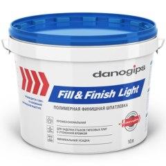 Шпатлевка DANOGIPS Fill&FinishLight 10 л