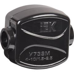 Зажим кабельный ответвительный IEK У-739М 4-10/1,5-2,5 мм2 IP20