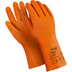 Перчатки Manipula Specialist Фишер латекс/интерлок размер 10 оранжевые