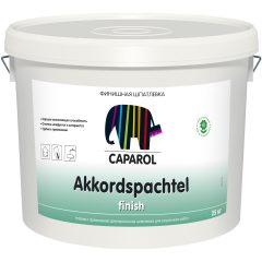 Шпатлевка Caparol Akkordspachtel finish латекс белая 25 кг