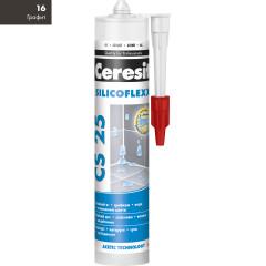 Затирка Ceresit CS-25 Silicoflex 280 мл Графит 16