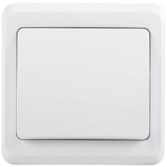Выключатель IEK Вега ВС10-1-0-ВБ 1-клавишный встроенный 250 В 10 А белый