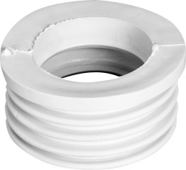 Манжета Симтек переходная 50x73 мм белая трехлепестковая