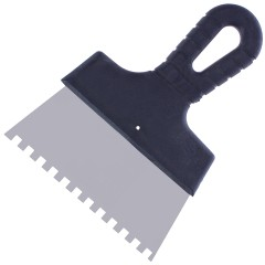 Шпатель зубчатый 150 мм 6х6 мм