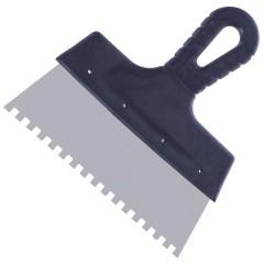 Шпатель зубчатый Интек 200 мм 6х6 мм