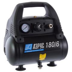 Компрессор масляный Аэрус 6 л 180 л/мин 1.1 кВт