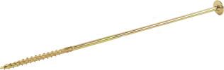 Шуруп конструкционный для дерева Европартнер 8x300 мм желтый