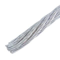 Трос Стройбат DIN 3055 3 мм 10 м стальной оцинкованный