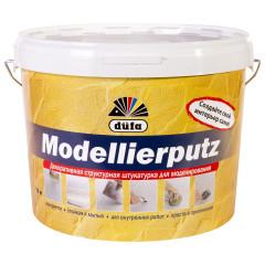 Штукатурка декоративная Dufa Modellierputz 18 кг белая