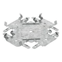 Соединитель потолочных профилей 60х27 мм одноуровневый краб