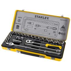 Набор торцевых головок Stanley, 24 предмета