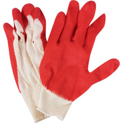 Перчатки хлопчатобумажные Russia 13 класс обливные