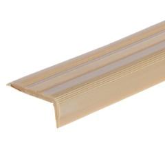 Порог угловой антискользящий T-plast золото 900х15х40 мм EL