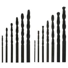 Набор сверл по металлу Sparta 1.5-6.5 мм, 13 шт.