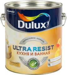 Краска для ванны и кухни Dulux Ultra Resist полуматовая BC 2.25 л