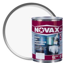 Эмаль для радиаторов Novax белая 1 л