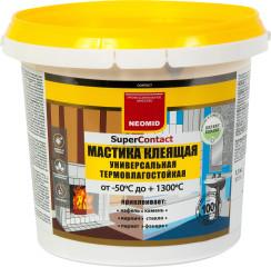 Мастика клеящая Neomid универсальная термостойкая 1.5 кг