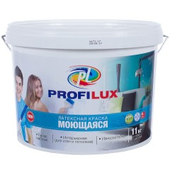 Краска латексная Profilux моющаяся 11 кг