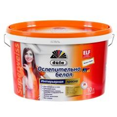 Краска водно-дисперсионная Dufa Superweiss Mix база1 10 л