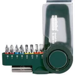 Набор бит Metabo 9 предметов  биты 25 мм+держатель