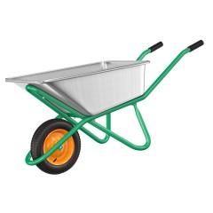 Тачка садовая одноколесная PALISAD усиленная 200 кг 90 л