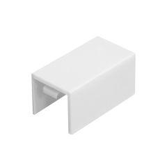 Соединение на стык Tplast 12х12 мм белый, 4 шт.