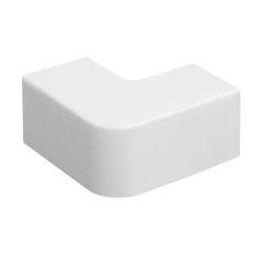 Поворот 90 градусов Tplast 12х12 мм белый, 4 шт.