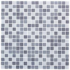 Мозаика Artens Tonic светло-серая 300х300х4 мм 0.09 м2