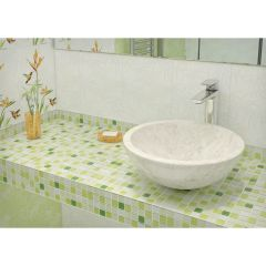 Мозаика Artens Shaker зеленая 300х300х4 мм 0.09 м2