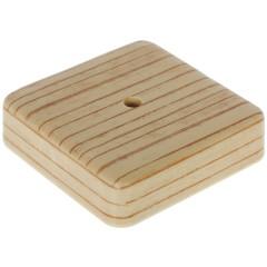Коробка распределительная ОП Tplast 75х75х20 мм сосна