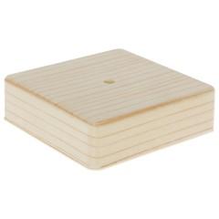 Коробка распределительная ОП Tplast 100х100х29 мм сосна