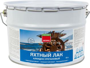 Лак яхтный Neomid матовый алкидно-уретановый полуматовый 9 л