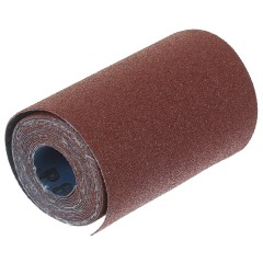 Рулон абразивный Dexter P80 115х2500 мм ткань
