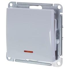 Выключатель одноклавишный с подсветкой Schneider Electric W59 VS110-153-1-86 белый