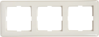 Рамка Schneider Electric KD-3-18 W59 3 поста белая