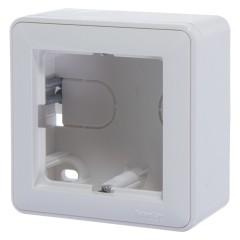 Коробка подъемная Schneider Electric одноместная белая