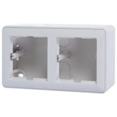 Коробка подъемная Schneider Electric двуместная белая