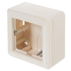 Коробка подъемная Schneider Electric одноместная слоновая кость
