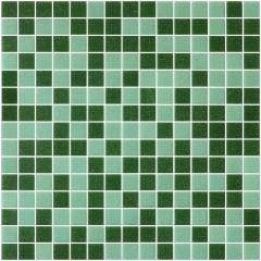 Мозаика Artens Ceramic зеленая 327х327х4 мм 0.11 м2
