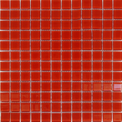 Мозаика Artens Shaker красная 300х300х4 мм 0.09 м2