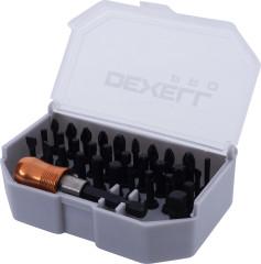 Набор бит Dexell Pro 32 предмета  биты+держатель