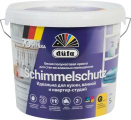 Краска водно-дисперсионная Dufa Schimmelschutzfarbe 5 л белая