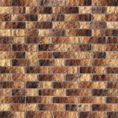 Плитка декоративная WHITE HILLS Альтен Брик коричнево-медная 0.59 м²