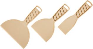 Набор шпателей Интек резина 50-100-150 мм