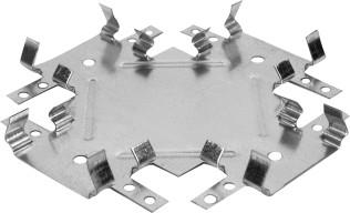 Соединитель потолочных профилей Премиум 60х27 мм одноуровневый краб