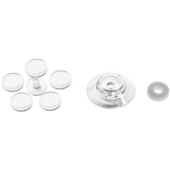 Термошайба Стройбат для поликарбоната прозрачная D 30 мм, 25 шт.