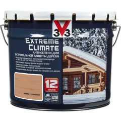 Антисептик V33 Extreme Climate экстремальная защита древесины французский беж 9 л