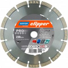 Диск алмазный Norton 4x4 Explorer сегментный 230x22.23 мм