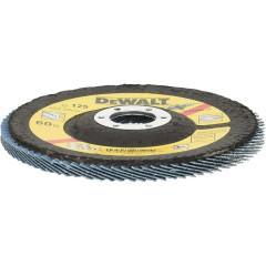 Круг лепестковый Dewalt Extreme 60G 125x22.2 мм