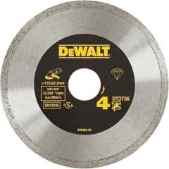 Диск алмазный Dewalt сплошной 125x22.2 мм